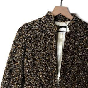 J. Crew Wool Blend Tweed Work Blazer - Like New